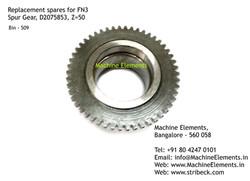 Spur Gear, D2075853, Z=50