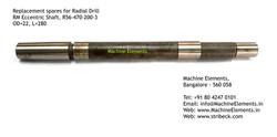 RM Eccentric Shaft, R56-470-200-3