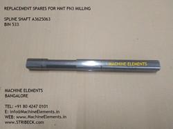SPLINE SHAFT A3625063