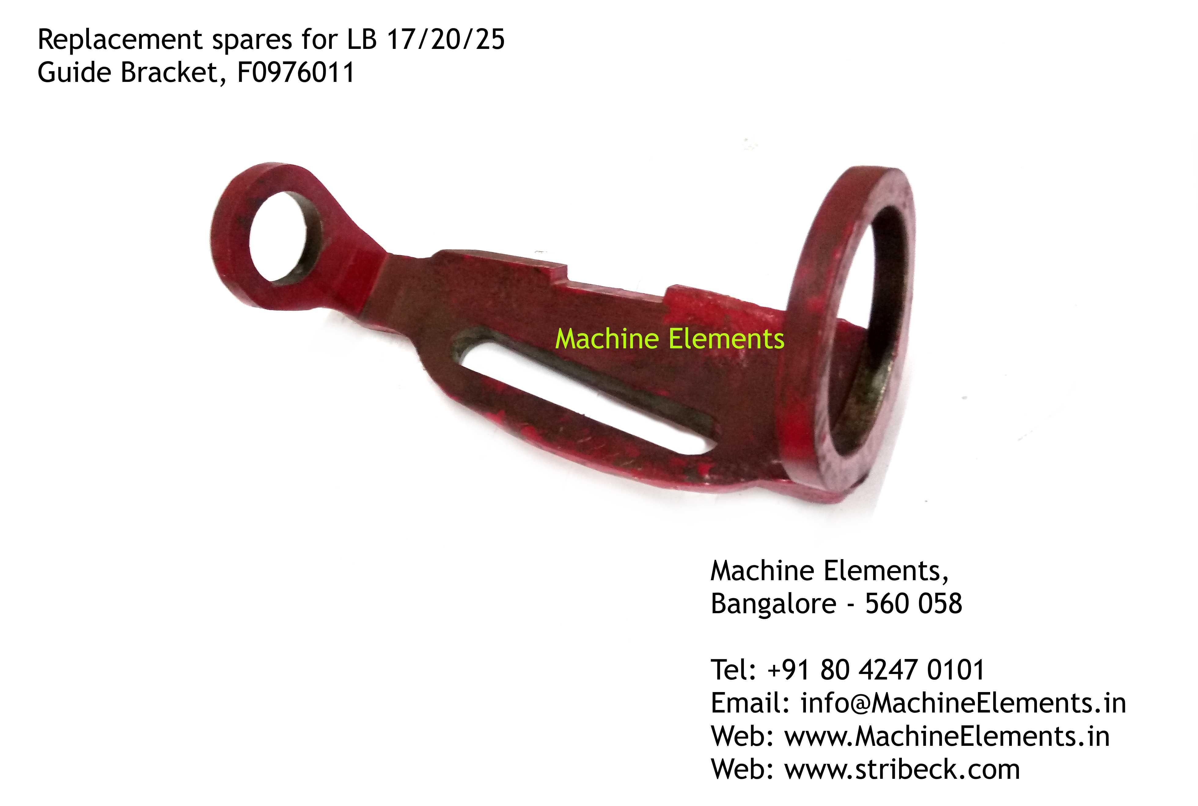 Guide Bracket, F0976011