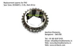Spur Gear, D2366813, Z=26