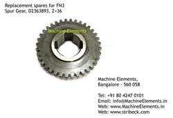 Spur Gear, D2363893 Z36