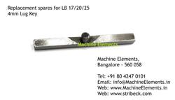 4mm Lug Key