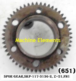 SKP-117-3136-2- Z51 SPUR GEAR