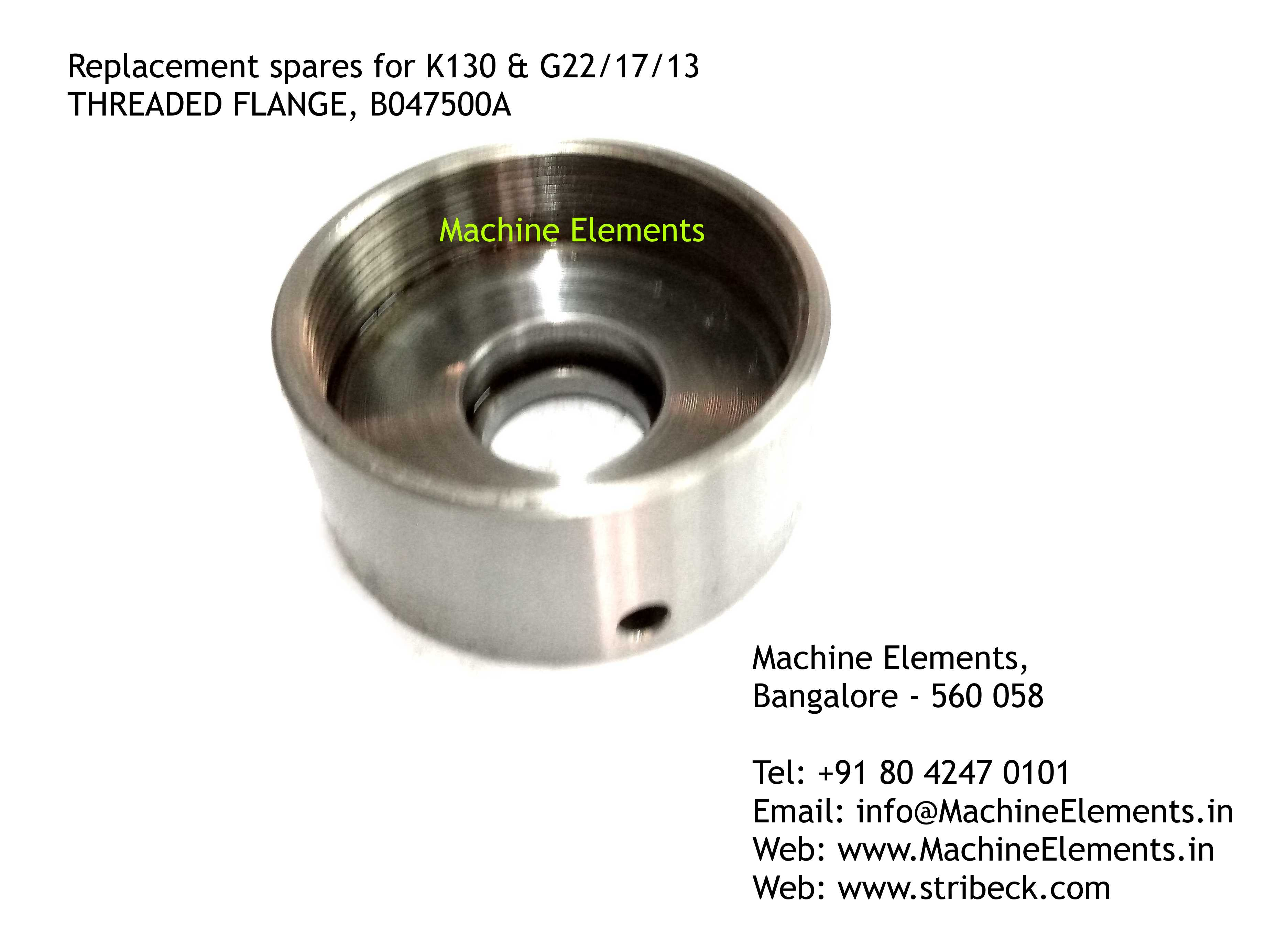 THREADED FLANGE, B047500A
