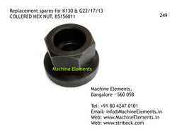 COLLERED HEX NUT, B5156011