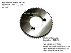 Spur Gear, D1581823, Z=55