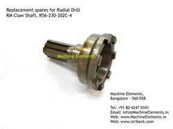 RM Claw Shaft, R56-230-202C-4