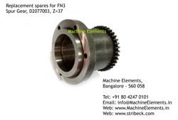 Spur Gear, D2077003, Z=37