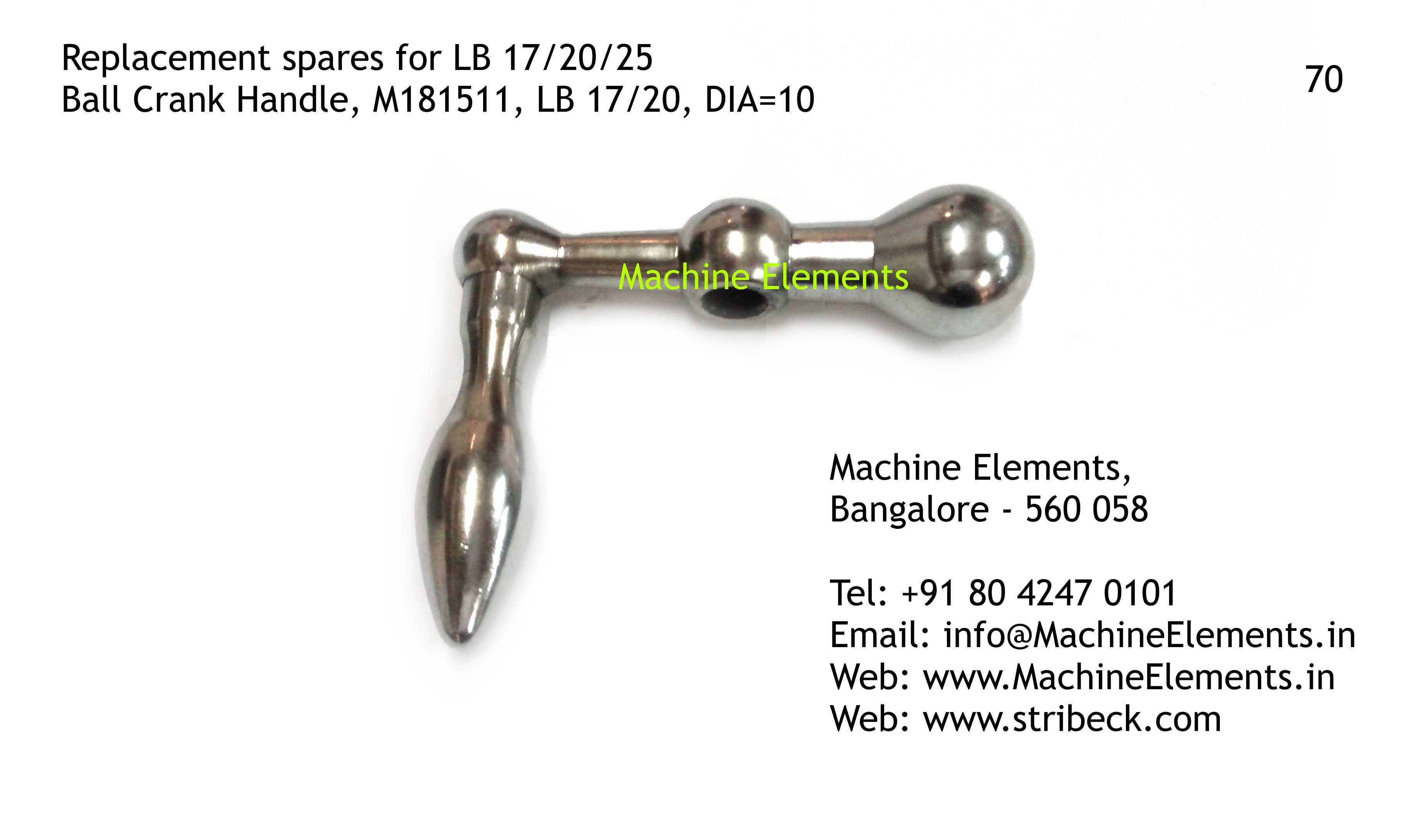 Ball Crank Handle, M181511