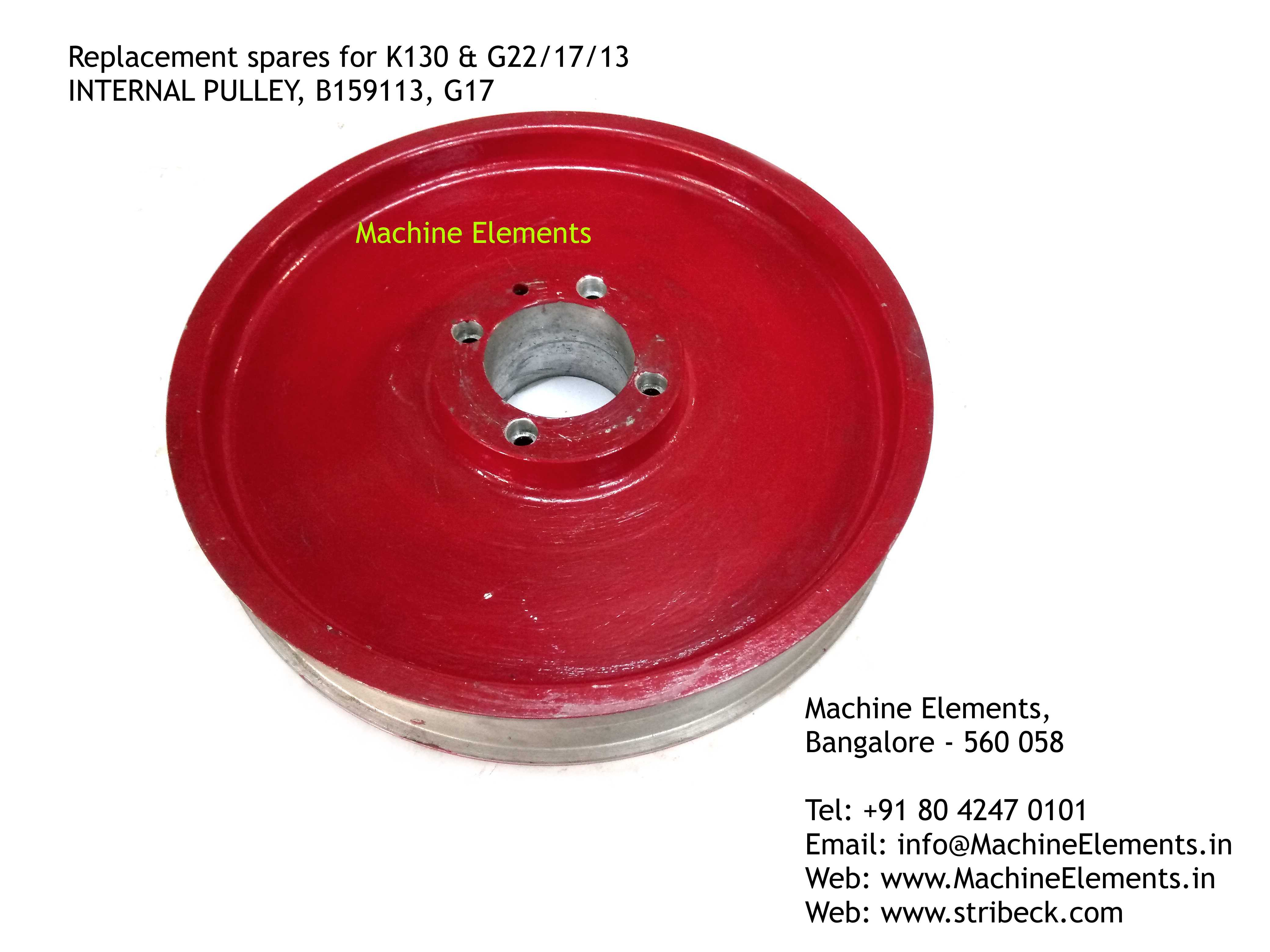 INTERNAL PULLEY, B159113, G17