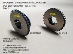 SPUR GEAR FOR SHIFTER - Z38 - D137303
