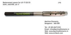 A303700 Shaft LB 17