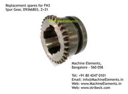 Spur Gear, D9366803, Z=31
