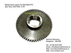 Spur Gear, D2371853, Z=59