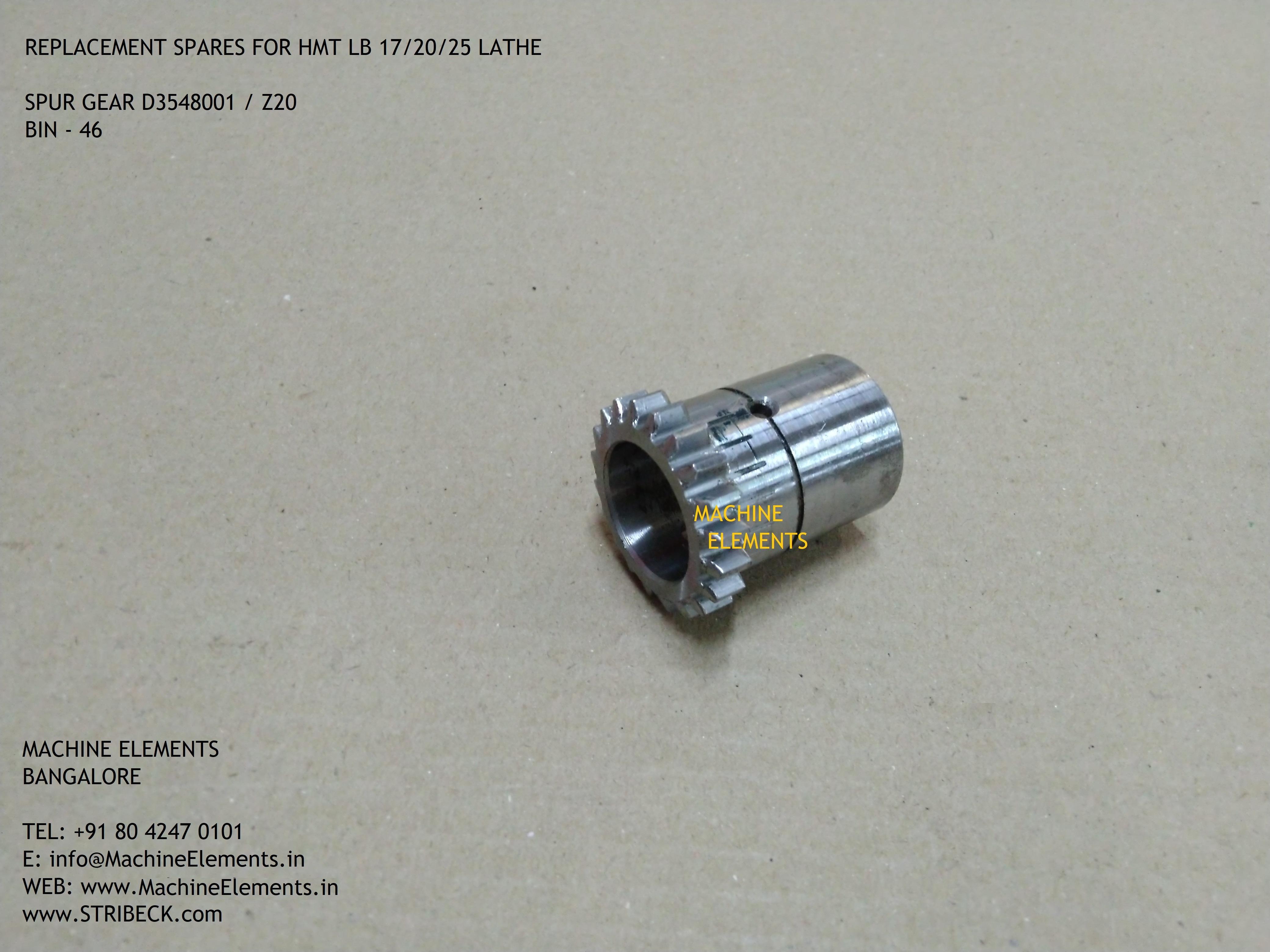 D3548001 z20 SPUR GEAR