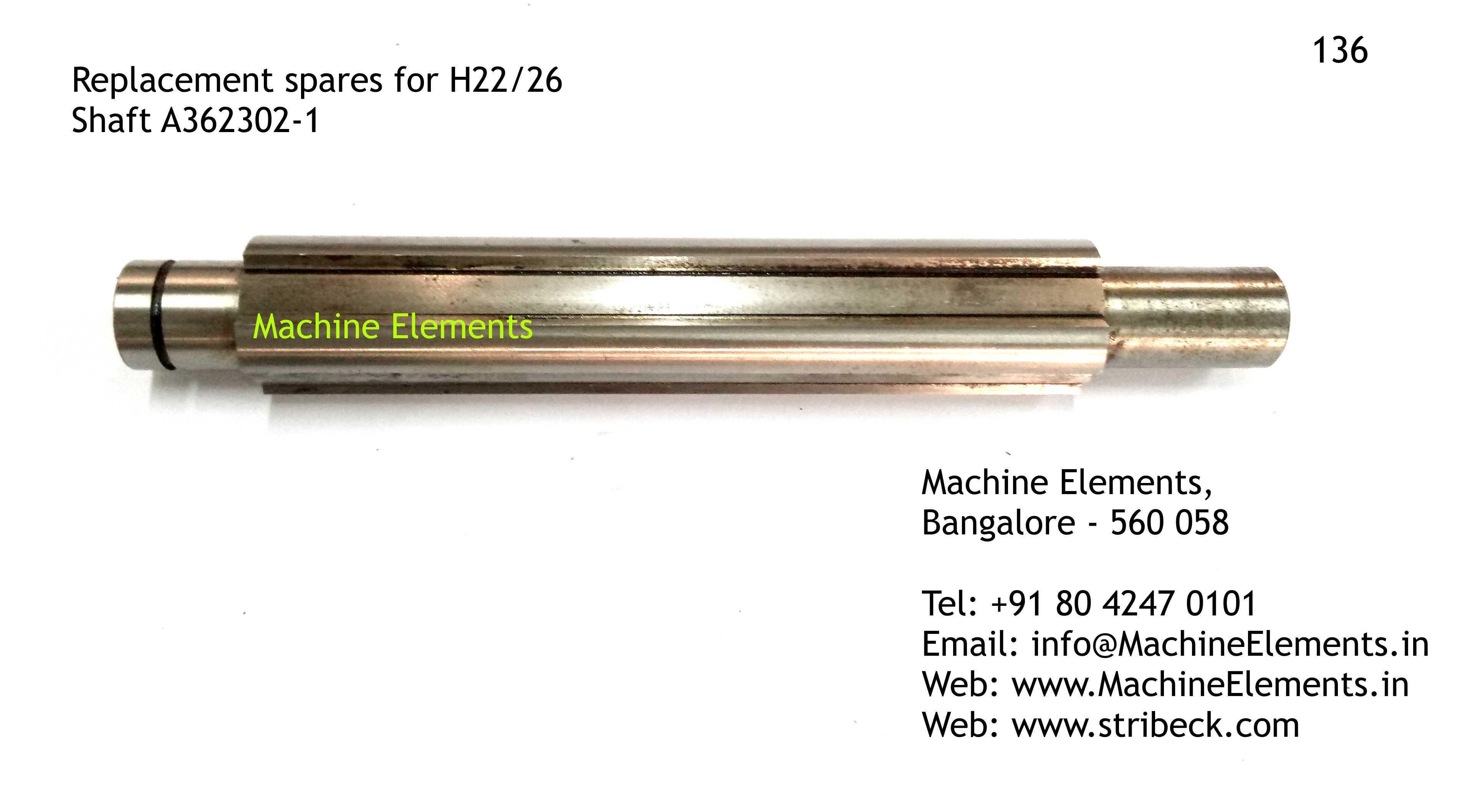Shaft A362302-1
