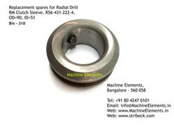 RM Clutch Sleeve, R56-431-222-4, OD=90,