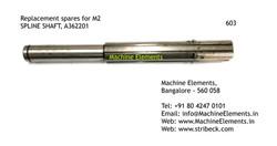 SPLINE SHAFT, A362201