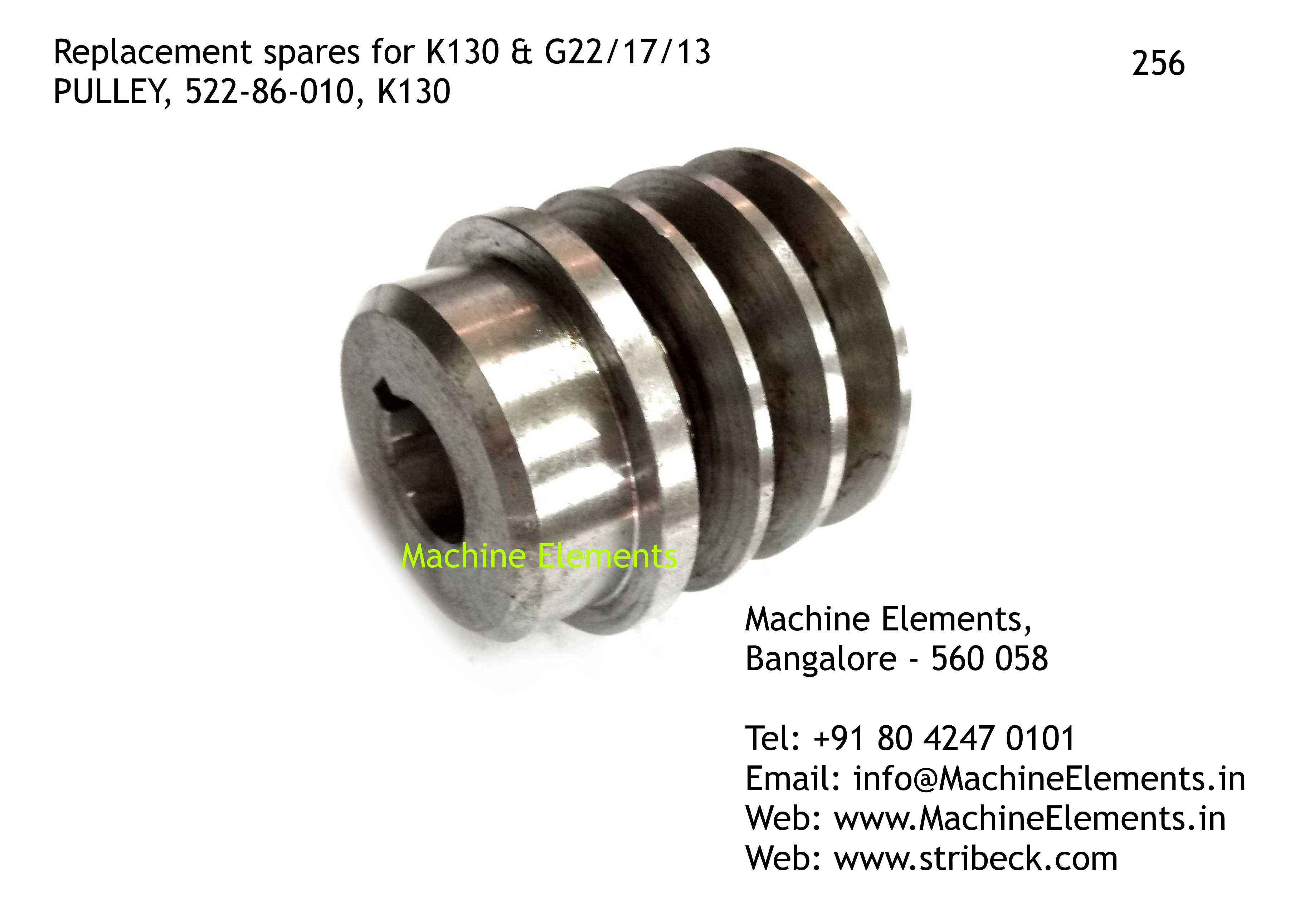 PULLEY, 522-86-010