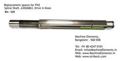 Spline Shaft, A3026863