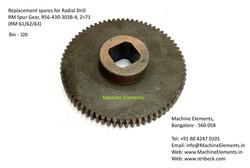 RM Spur Gear, R56-430-303B-4, Z=71