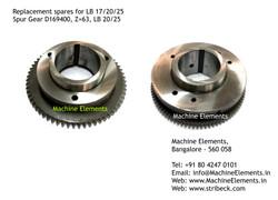 Spur Gear, D169400, Z=63