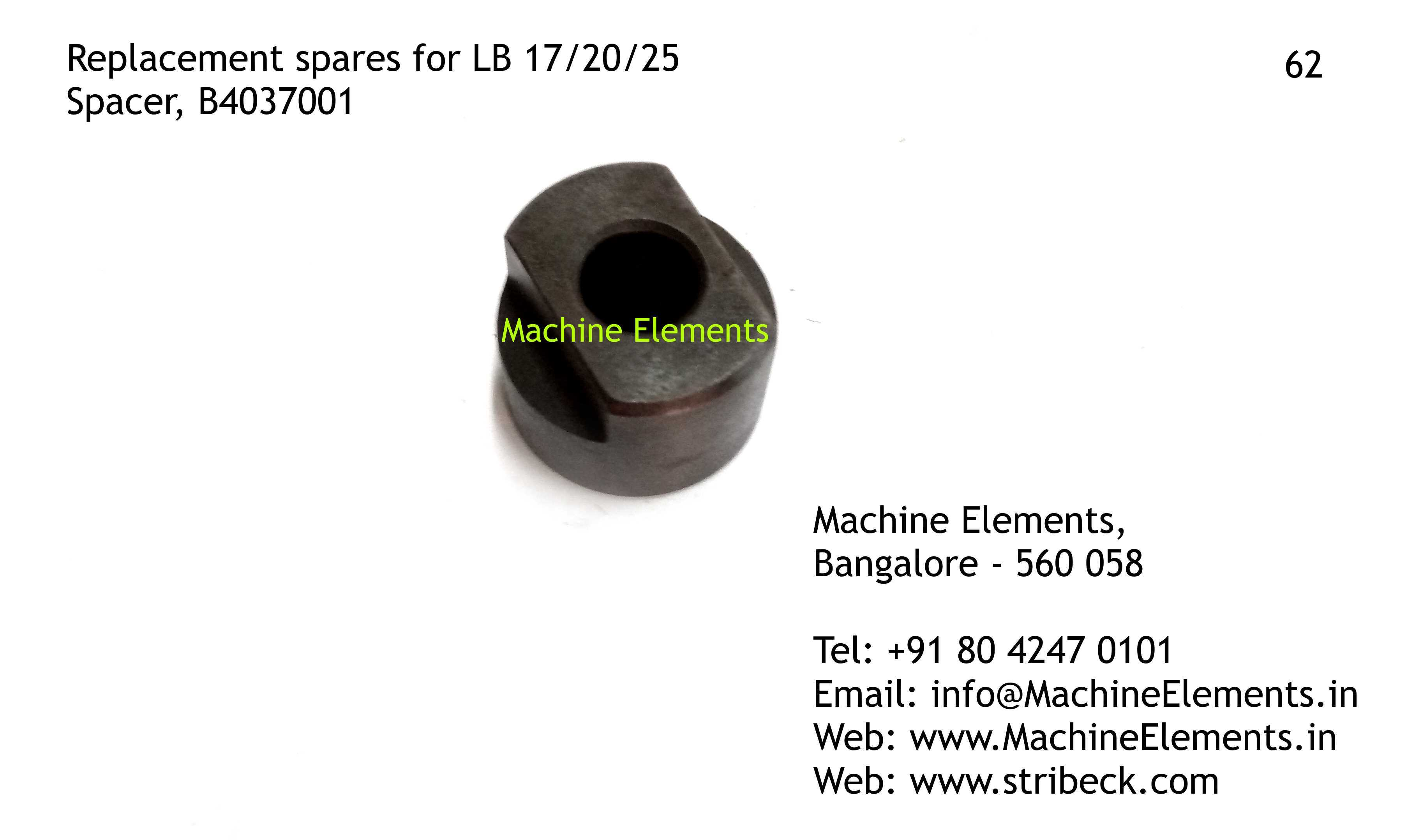 Spacer, B4037001