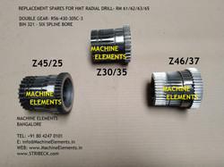DOUBLE GEAR- R56-430-305C-3 BIN 321- SIX