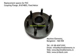 Coupling Flange, B1674803, Feed Motor