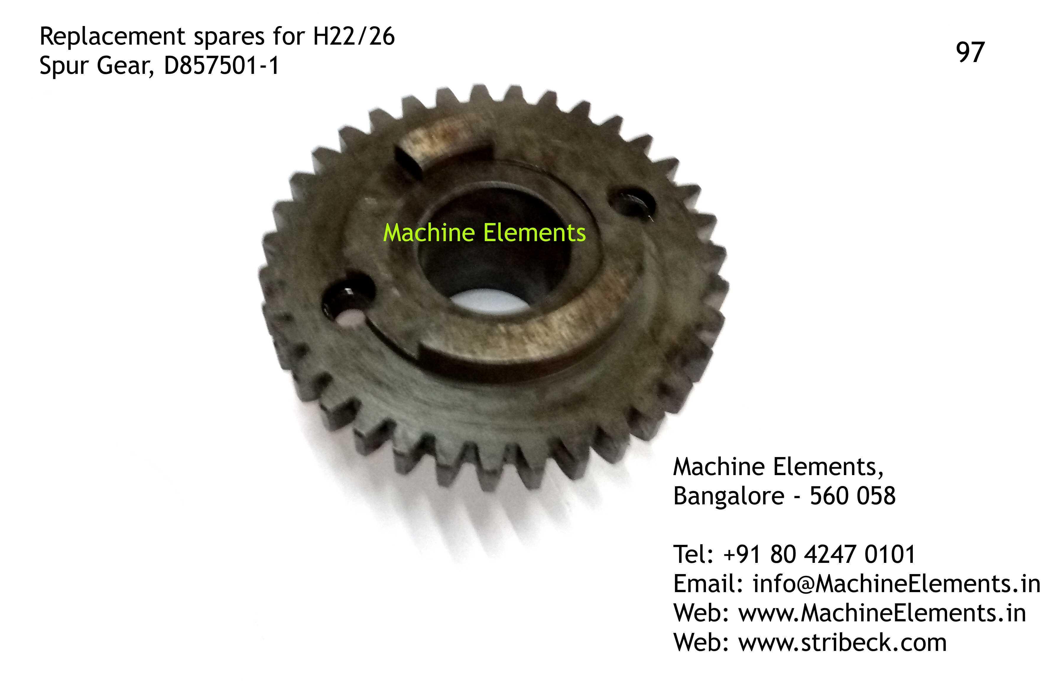 Spur Gear D857501-1
