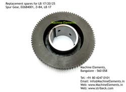 Spur Gear, D2684001, Z=84