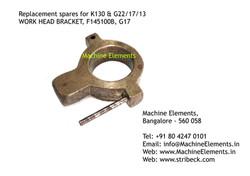 F145100B, WORK HEAD BRACKET, G17