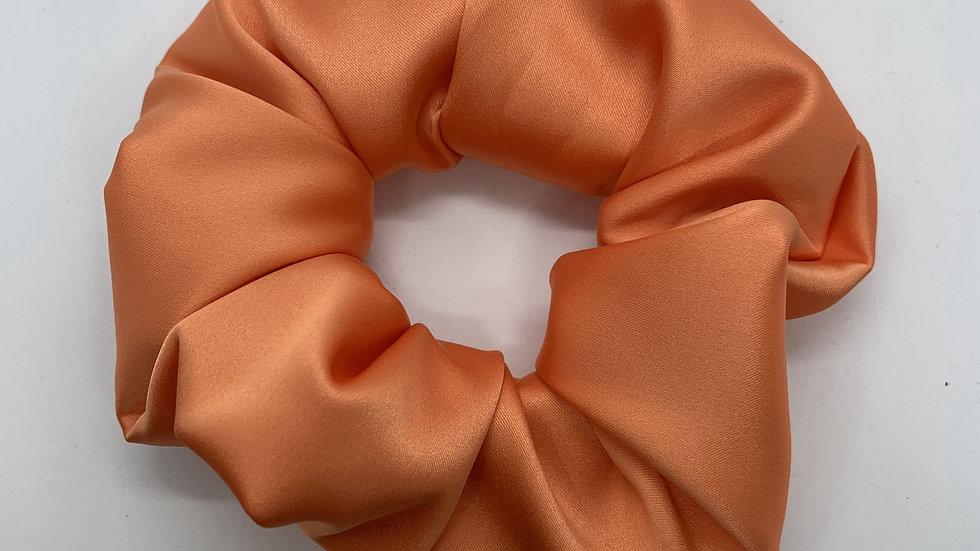 Sunset Orange Scrunchie