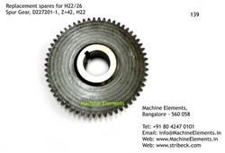 Spur Gear, D227201-1, Z=42
