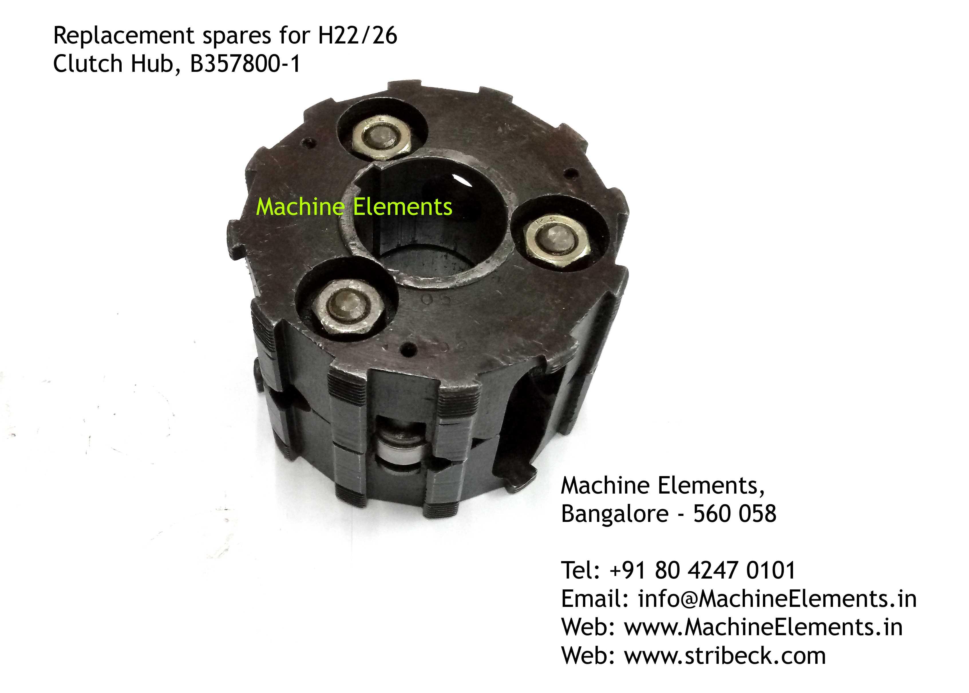 Clutch Hub, B357800-1
