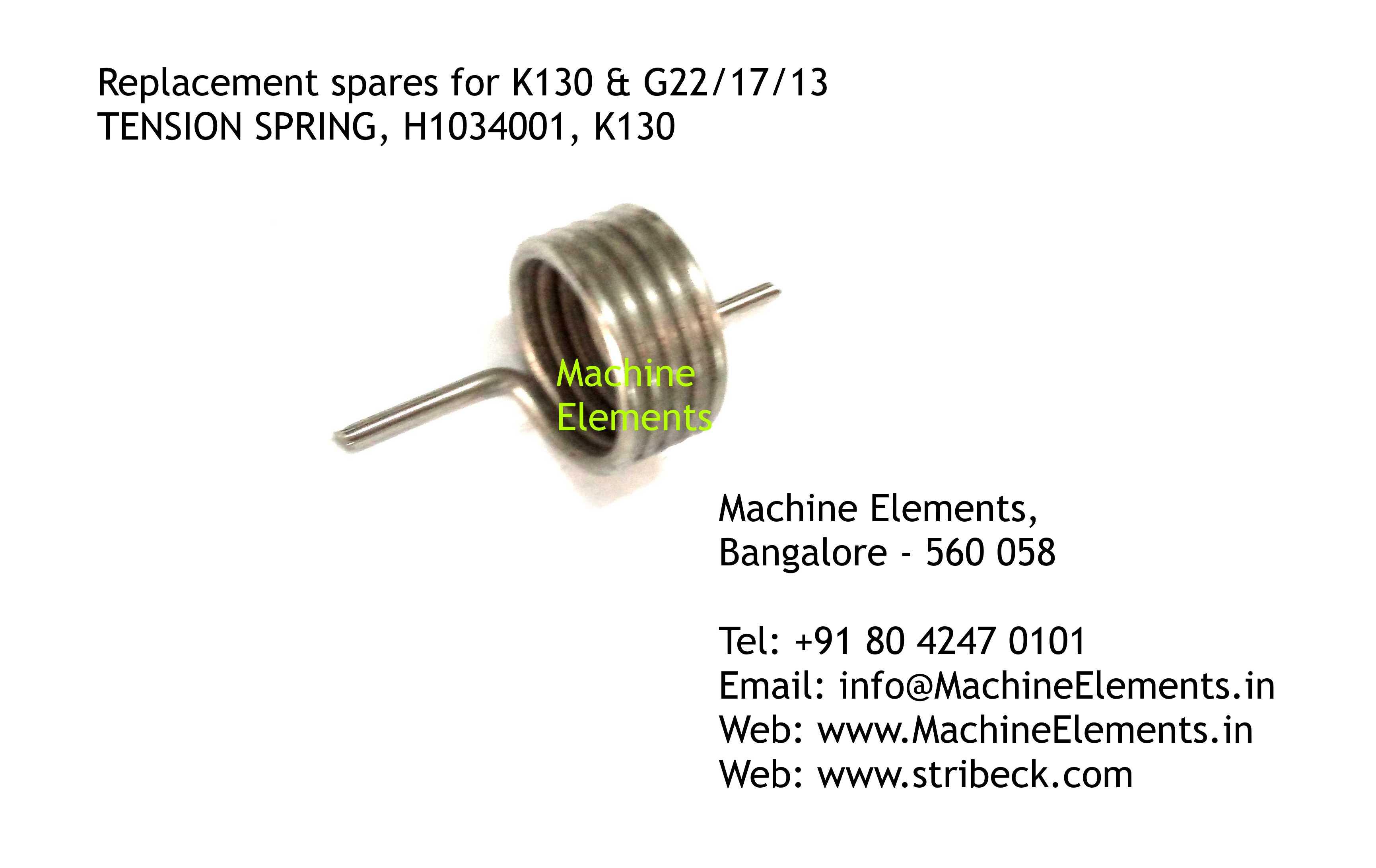 TENSION SPRING, H1034001