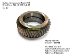Helical Gear, R56-430-308B-4, Z=39