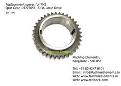 Spur Gear, D2273053, Z=36