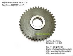 Spur Gear, D227104-1, Z=39