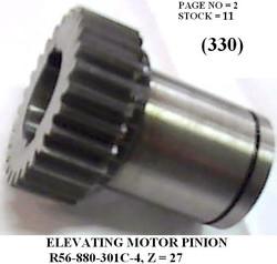 R65-090-301C-4' ELEVATING MOTOR PINION