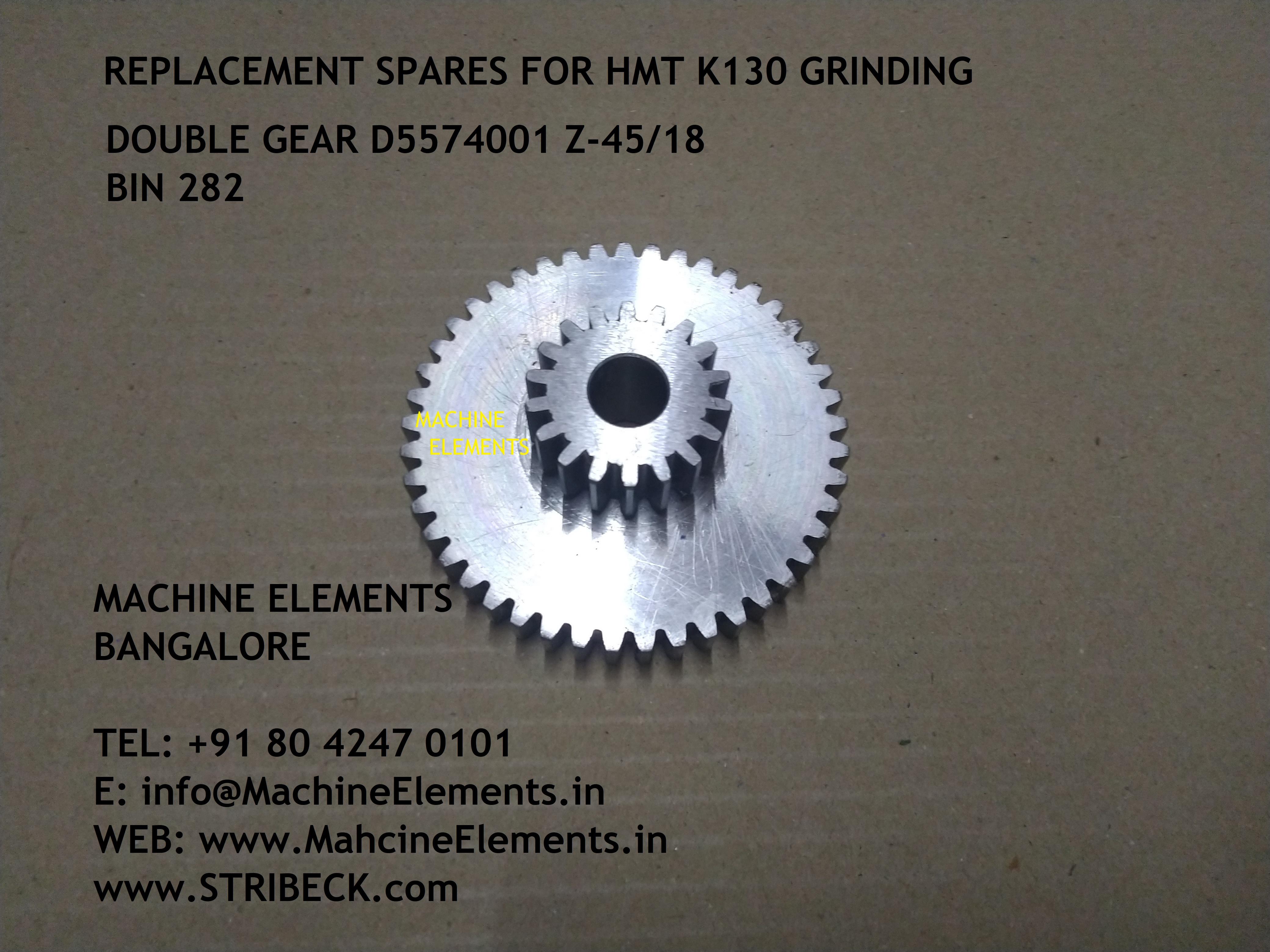 DOUBLE GEAR D5574001 Z-4518 BIN 282