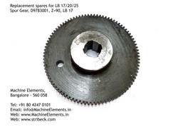 Spur Gear D9783001 Z90