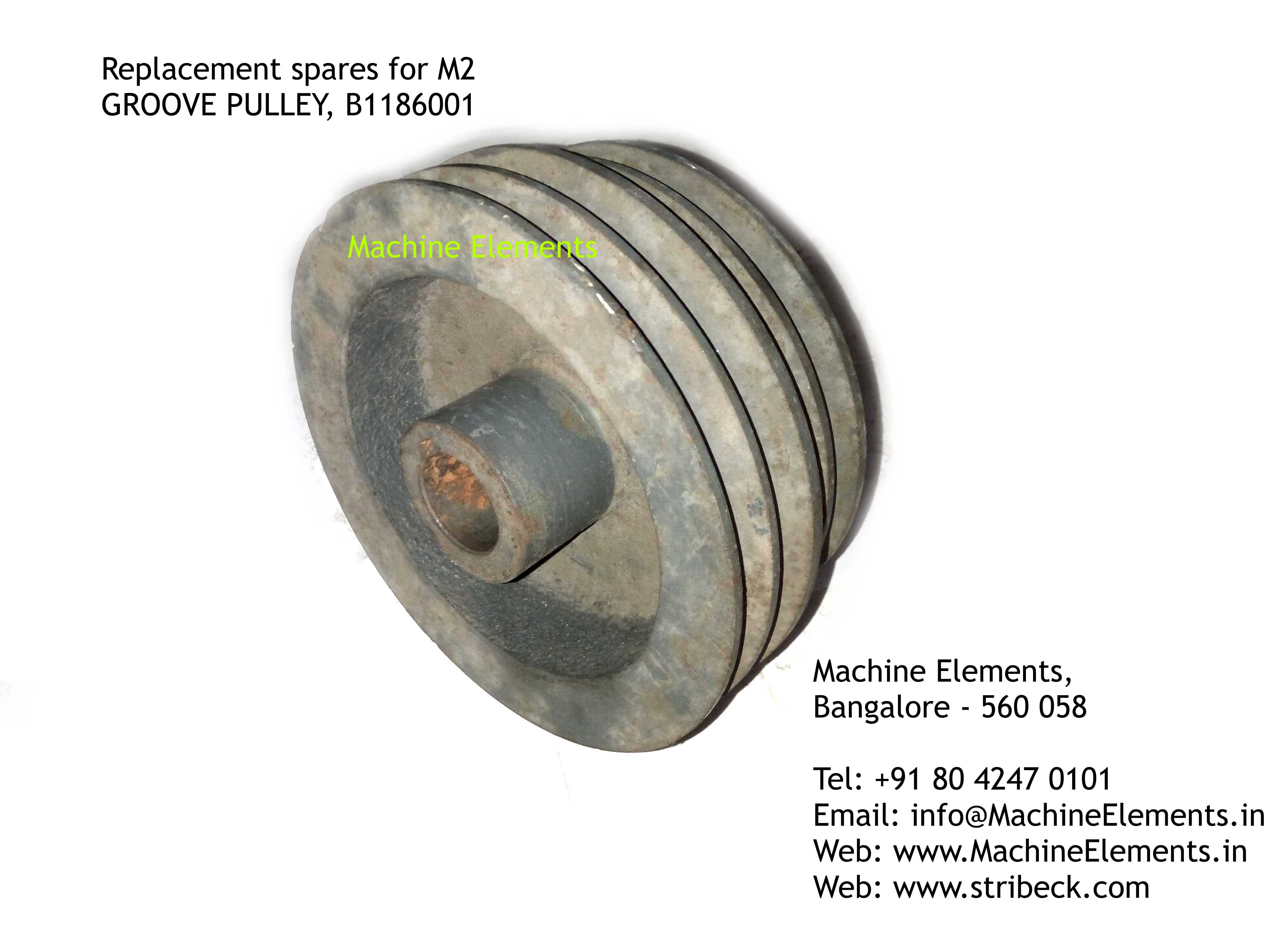 GROOVE PULLEY, B1186001