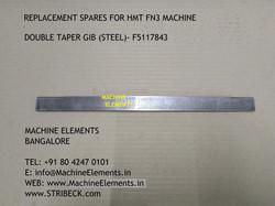 DOUBLE TAPER GIB (STEEL) - F5117843