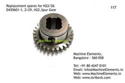 Spur Gear, D435601-1, Z=29
