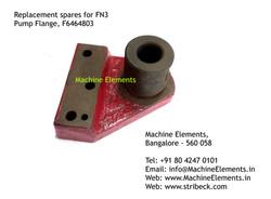 Pump Flange, F6464803