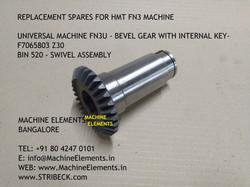 FN3U - BEVEL GEAR WITH KEY - F7065803 Z3