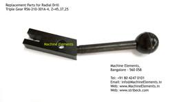 Triple Gear R56-210-301A-4, Z-45, 37, 25
