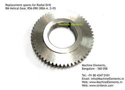 RM Helical Gear, R56-090-300A-4, Z=55